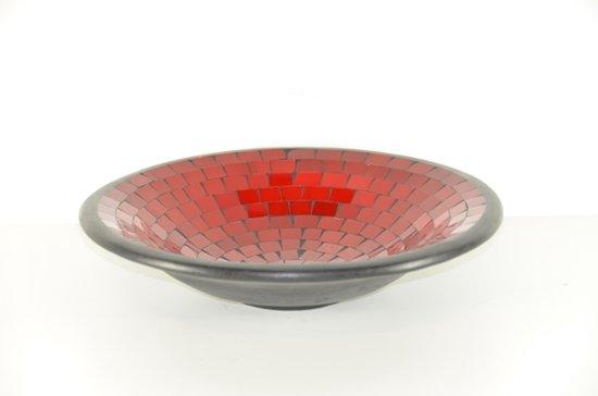 Ongekend bol.com | fruitschaal 38 cm - glasmozaiek en aardewerk - fair DN-37