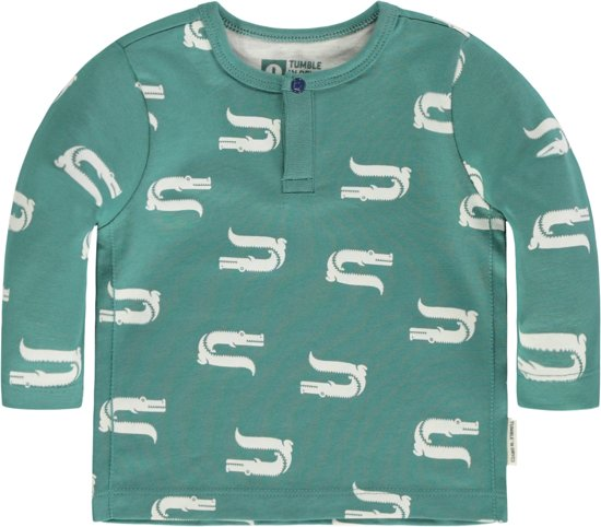 Tumble 'n dry Jongens Tshirt Sill -  jungle green  -  maat 56