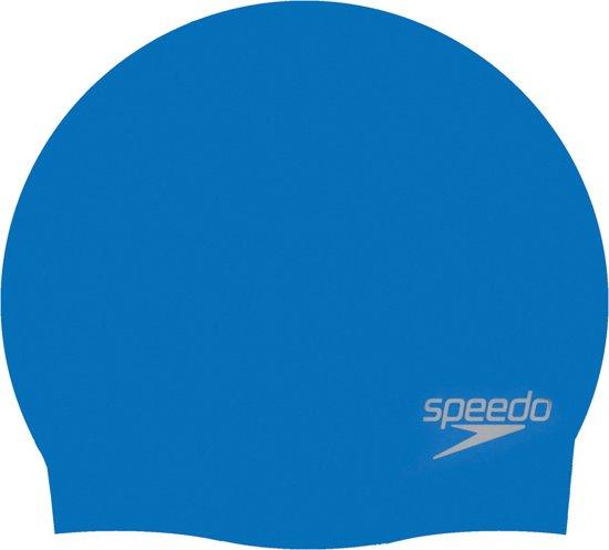 Speedo Badmuts Moulded Silicone - Unisex - Blauw - One Size
