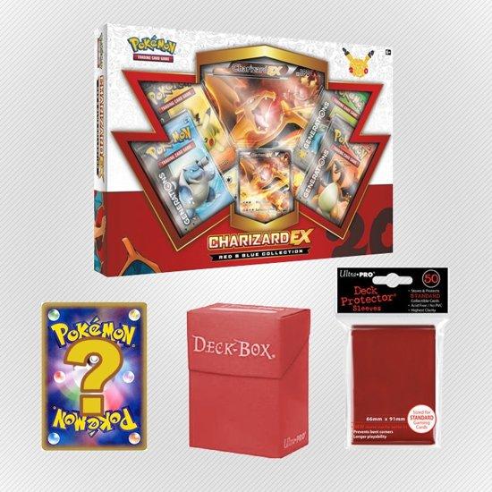 Afbeelding van het spel Pokemon kaarten TCG - Charizard EX - Red Set
