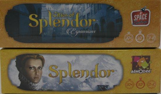 Afbeelding van het spel Splendor + Uitbreiding