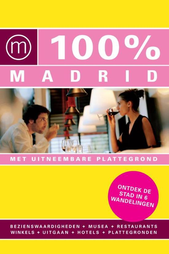 Cover van het boek '100% Madrid' van Marloes Vaessen
