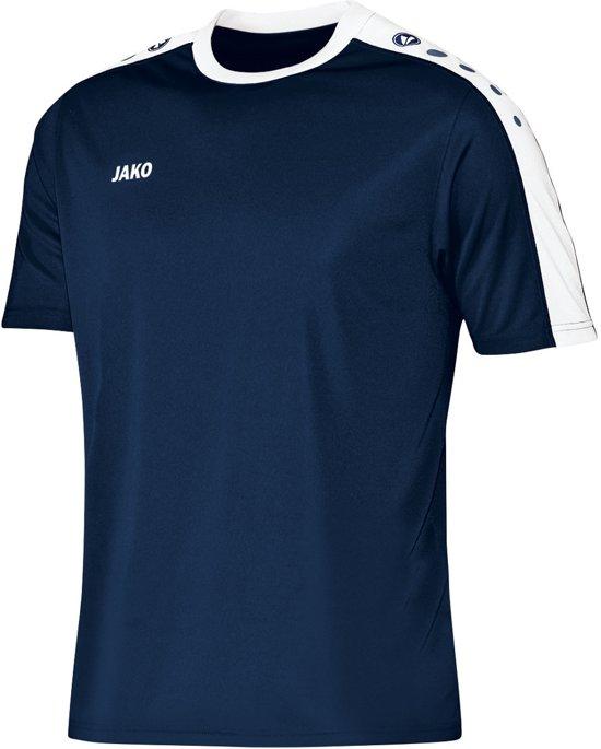 Jako Striker KM - Voetbalshirt - Jongens - Maat 116 - Blauw