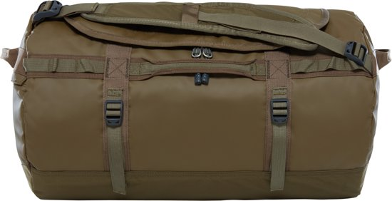 The North Face Base Camp Duffel Reistas S - 50 L - Beech Green / Burnt Olive Green - vernieuwd model