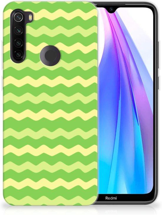 TPU bumper Xiaomi Redmi Note 8T Waves Green