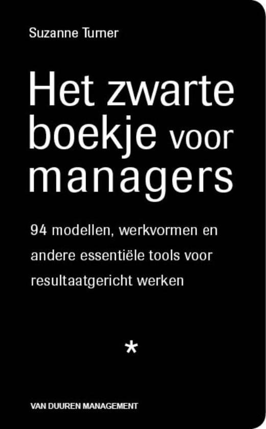 Het zwarte boekje voor managers