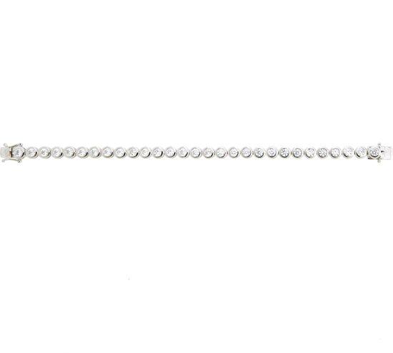 Classics&More - Zilveren tennisarmband gerodineerd