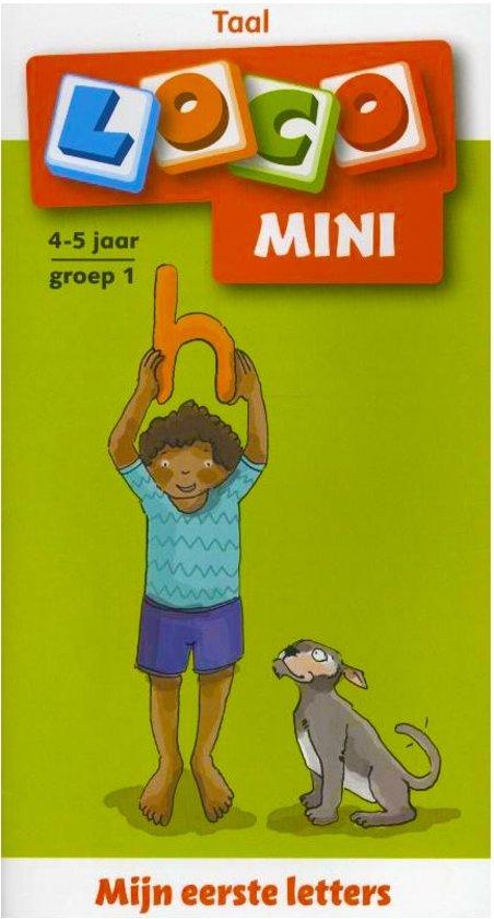 Boek cover Loco Mini / Mijn eerste letters van Uitgever: Noordhoff Uitgevers B. (Paperback)