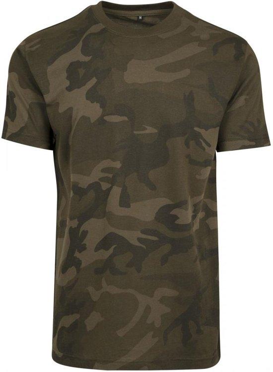 Jungle Senvi Kleur Ronde 5xl Hals Xxxxxl Maat Shirt Camo pwaBrA8qwO
