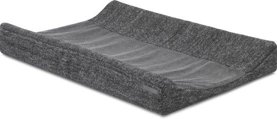 Jollein Waskussenhoes 50x70 cm Natural Knit anthracite 022-503-65083