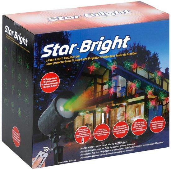 Laser verlichting met 16 kerstpatronen for Bol com verlichting