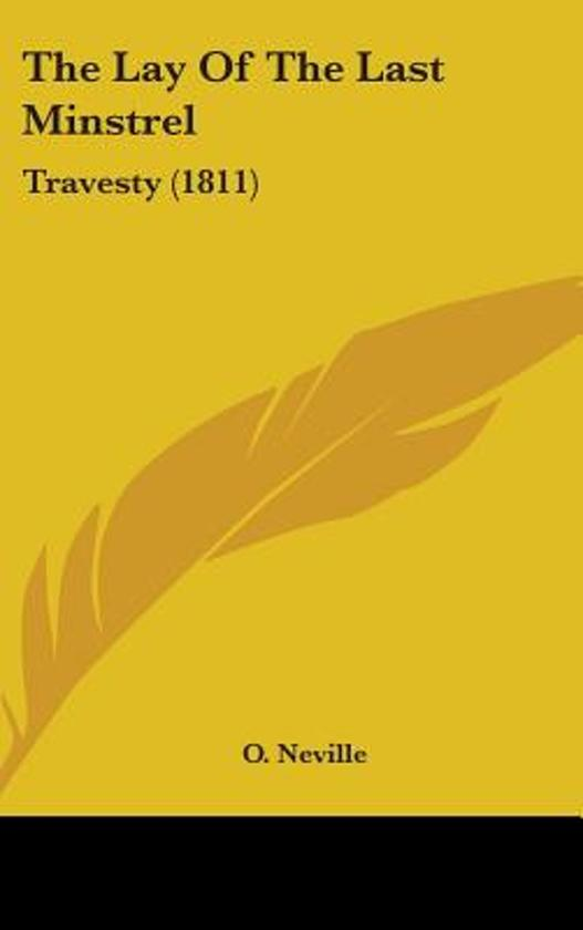 the Lay of the Last Minstrel: Travesty (1811)