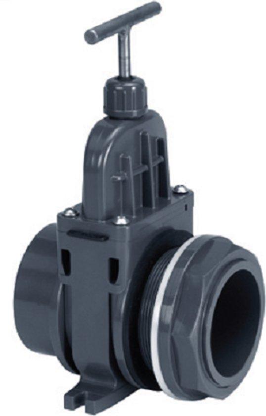 VDL Schuifkraan - met doorvoer - 110 mm