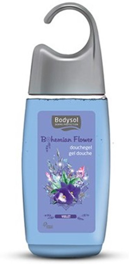 Foto van Bodysol Bohemian Flower Douchegel Violet 250ml