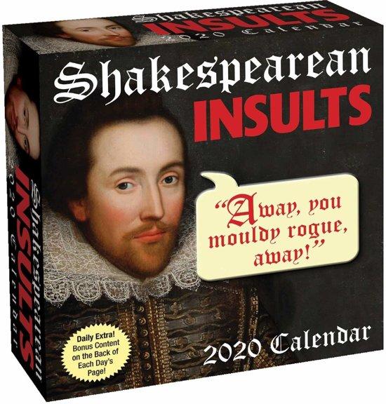 Shakespearean Boxed Kalender 2020
