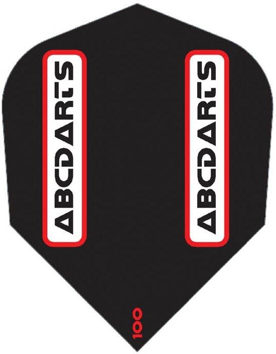 ABC Darts Flights - Zwarte Dart flights - Luxe ruthless Design - 10 sets (30 stuks)