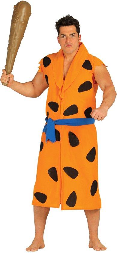 Oranje holbewoner kostuum voor volwassenen - Verkleedkleding