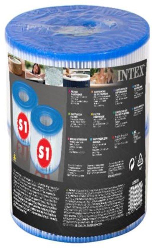 6x Intex Pure Spa S-1 Filter 6 stuks opblaas bubbelbad jacuzzi