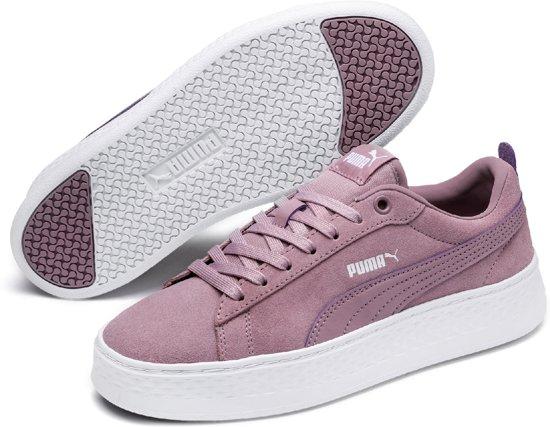Elderberry Platform Dames White Maat Sneakers Puma 39 Smash Sd qU5IXg