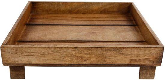 Onderbord Mango Vierkant op Hoogte L 35x35x9cm