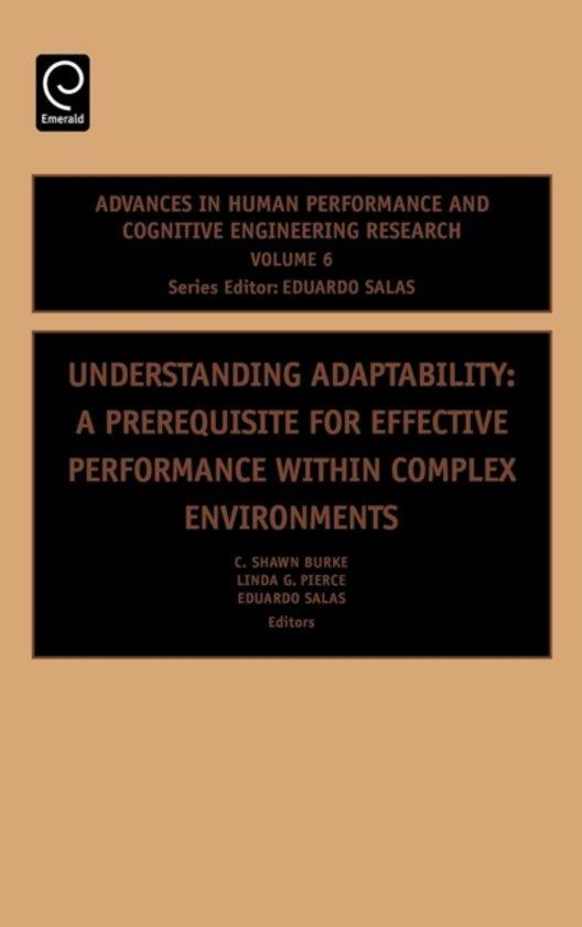 Understanding Adaptability