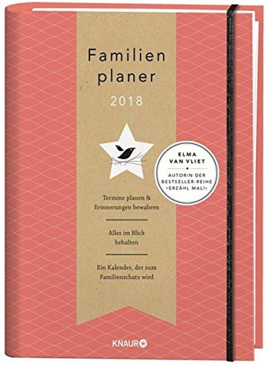 Elma van Vliet Familienplaner 2018