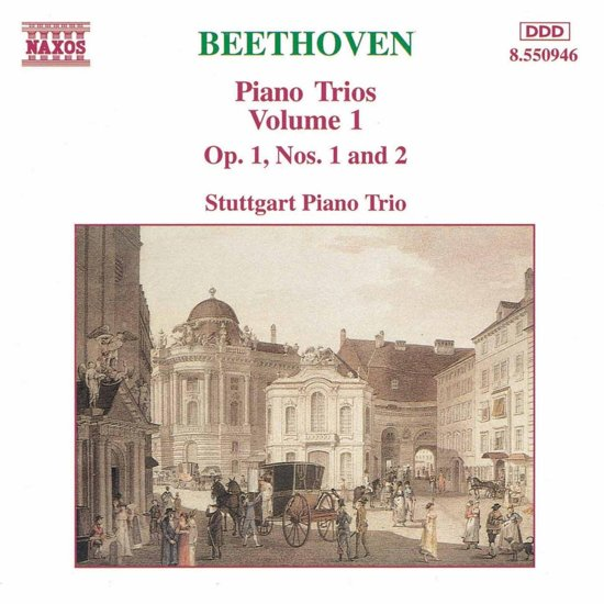 Beethoven: Piano Trios Vol 1 / Stuttgart Piano Trio