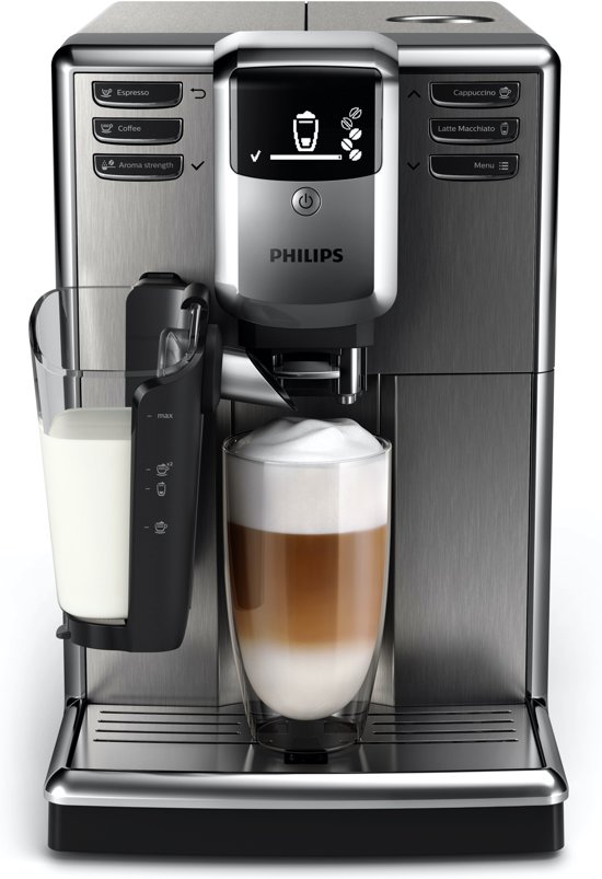 Philips 5000 serie EP5345/10 LatteGo - Espressomachine - RVS