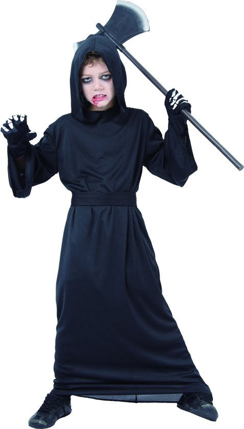 Halloween Pak.Verkleedkostuum Magere Hein Voor Jongens Halloween Pak Verkleedkleding Maat 140 152