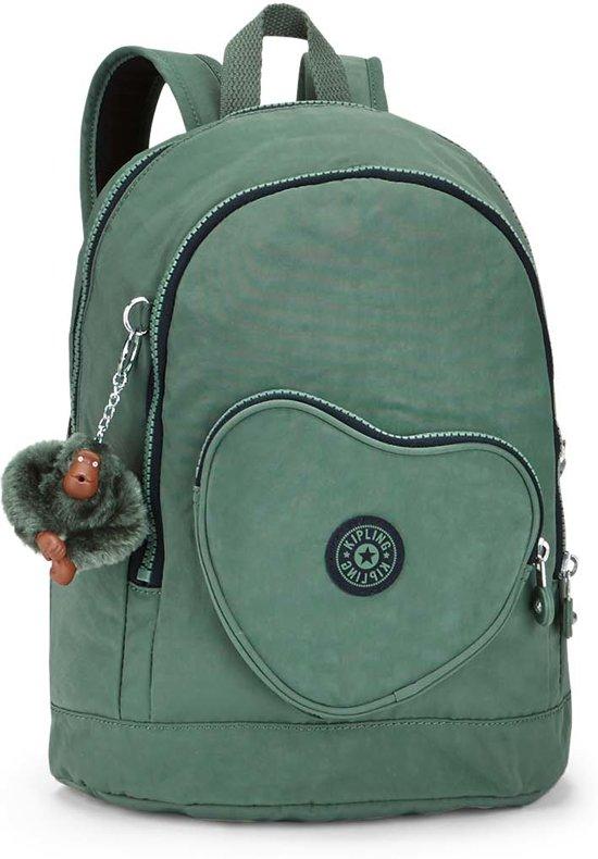 a80806765c1 bol.com | Kipling Heart Backpack - Rugzak - Kinderen - Dark Green C