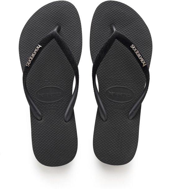 39bc6207d84508 bol.com | Havaianas slippers velvet zwart - Maat 41/42