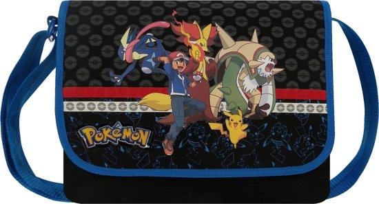 Pokemon Evolution - Schoudertas - Zwart