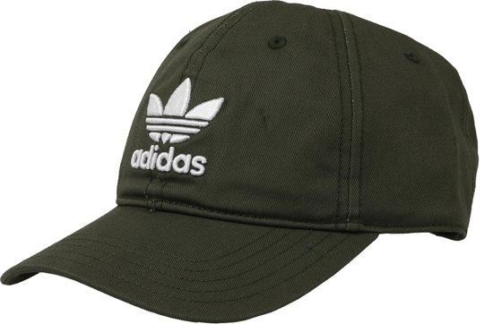 bol.com | Adidas Trefoil pet CD8803, Heren, Groen, pet