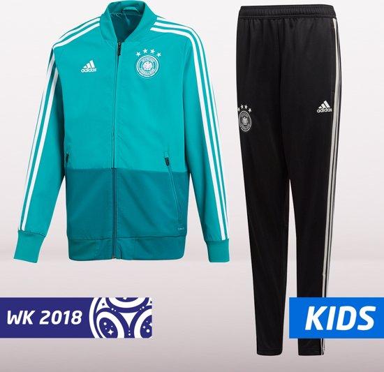 d783d457a35 bol.com   adidas Duitsland Jacket 2018/2019 Kinderen - Groen