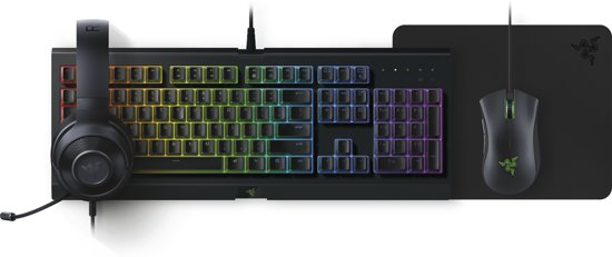 Razer Epic Holiday Gaming Bundel - Toetsenbord+Headset+Muis(Mat) - Qwerty