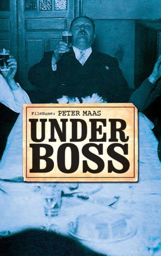 Boek cover Underboss van Peter Maas (Paperback)