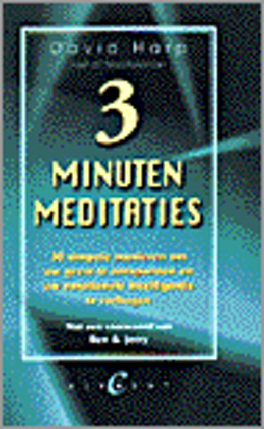 Drie minuten meditaties
