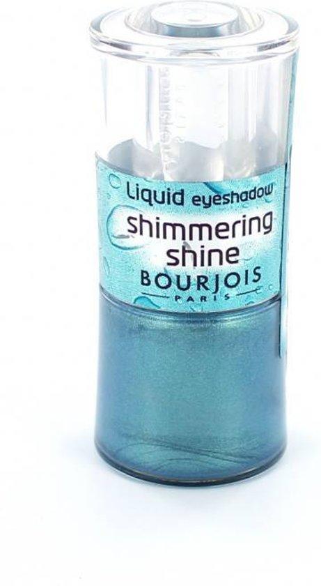 Bourjois Shimmering Shine Oogschaduw - 36 Bleu Electrolyse