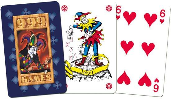Thumbnail van een extra afbeelding van het spel Standaard Kaartspel Blauw
