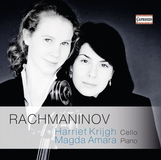 RACHMANINOV: SONATA FOR CELLO AND PIANO IN G MINOR / ELEGIE / VOCALISE / ROMANCE