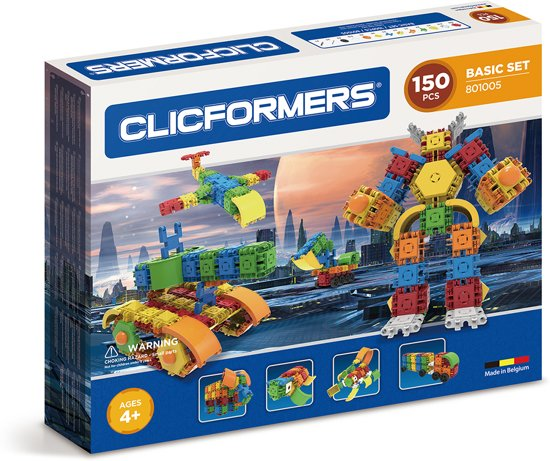 Clicformers Basic Set 150 pcs