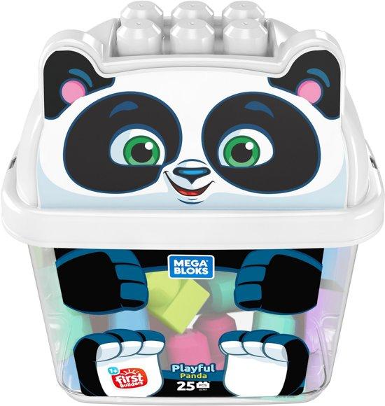 Mega Bloks Panda Bouwemmer - Constructiespeelgoed