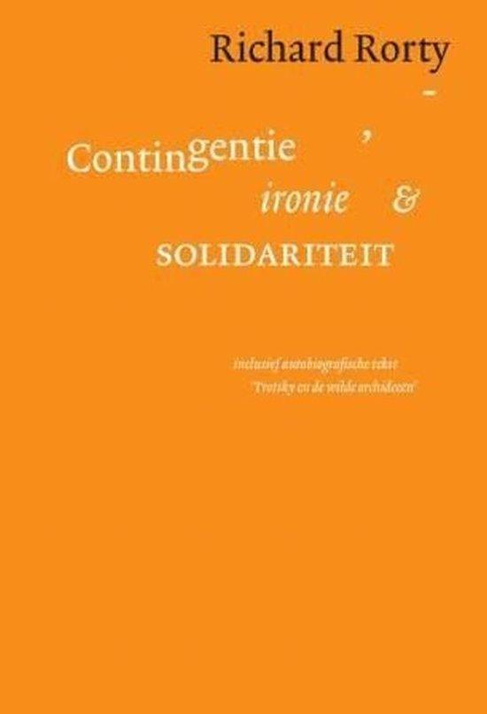 Contigentie, ironie en solidariteit