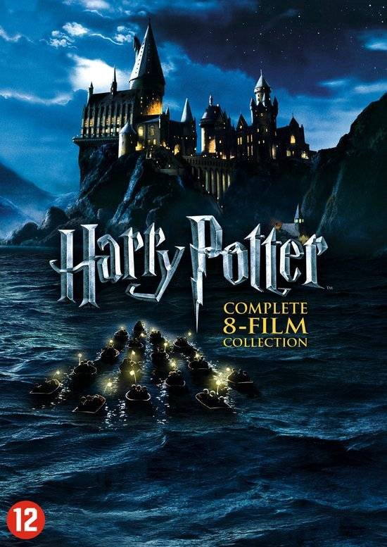 DVD cover van Harry Potter: Complete 8-Film Collection