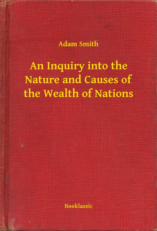 deat adam smith and the wealth