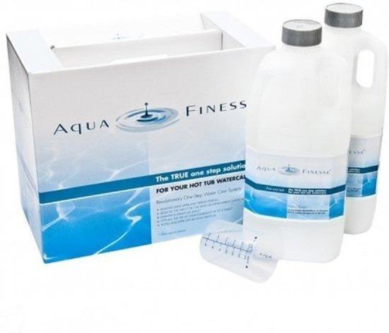Aquafinesse Spa en Hottub waterbehandelingset met gratis drijvende bar