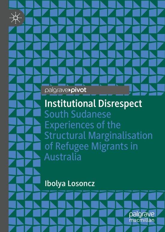 Institutional Disrespect