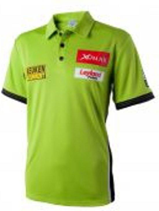 XQMax Michael Van Gerwen - Sportshirt - Groen - XL
