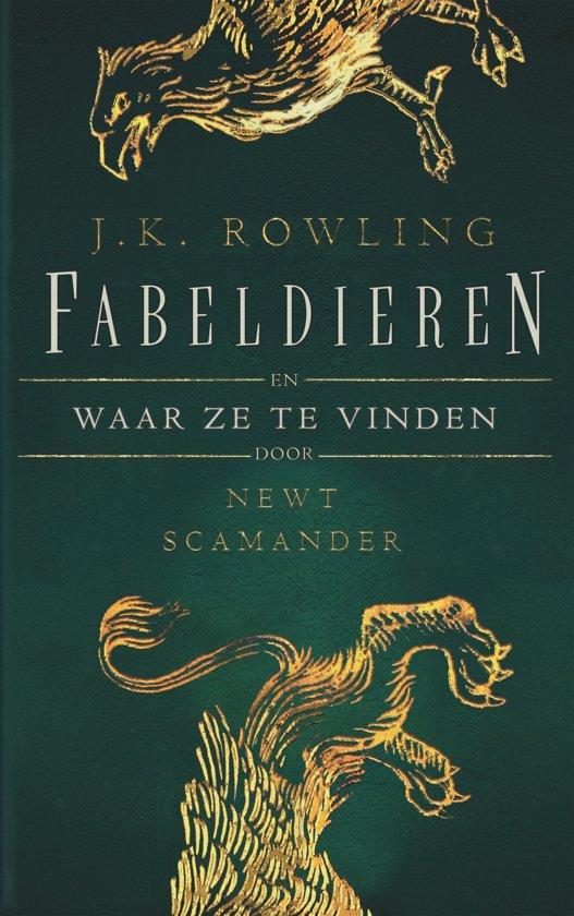 Boek cover Fantastic Beasts and Where to Find Them - Fabeldieren en waar ze te vinden van J.K. Rowling (Hardcover)