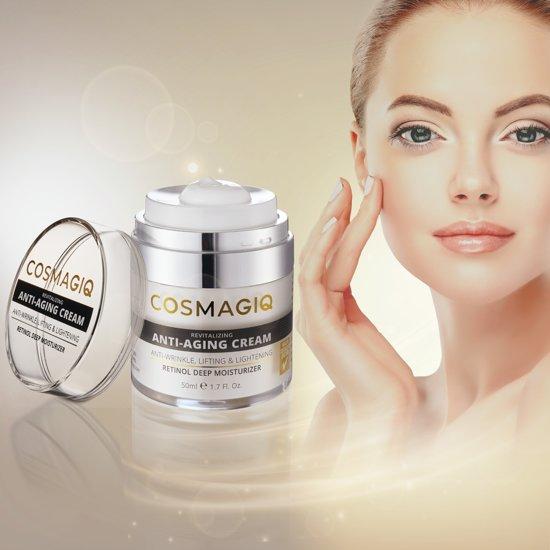 COSMAGIQ | Anti Age crème voor vrouwen |Anti Rimpel crème - 50 ML | Dagcrème